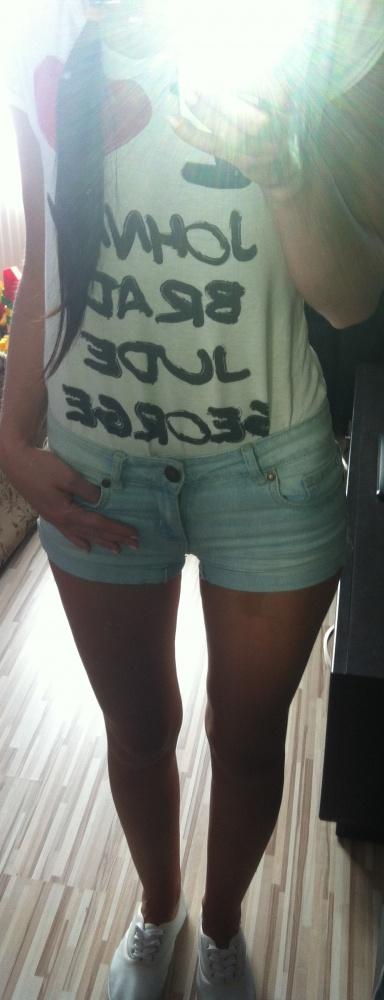 Codzienne white & jeans