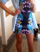 atmosphere floral bodycon