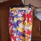 Spódnica Mohito ołówkowa floral kwiaty 36