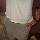 dresowa spódnica bandażowa