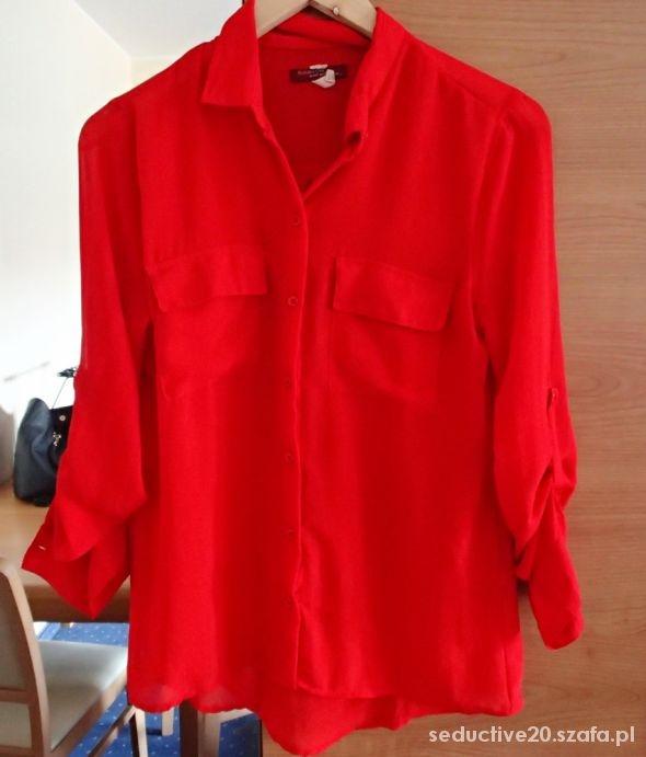 Czerwona koszula Bershka M