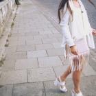 Handmade jacket handbagshortsblouse