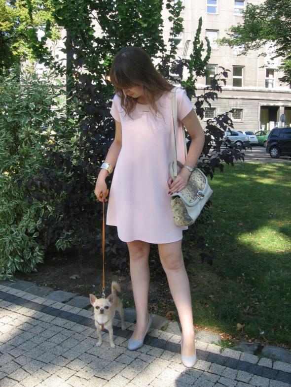 Mój styl Asymetryczna sukienka