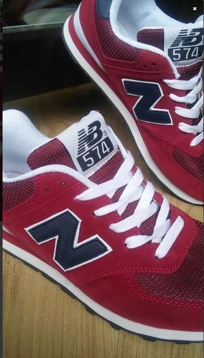 Czerwone Buty New Balance rozmiar 38...