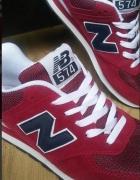 Czerwone Buty New Balance rozmiar 38