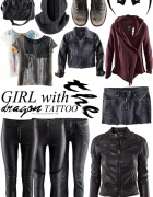 Girl with the Dragon Tattoo for H&M collection...