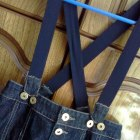 Bershka spódnica ołówkowa jeansowa z wyższym stane