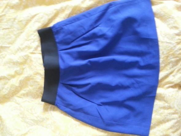 Spódnice Niebieska mini rozm S