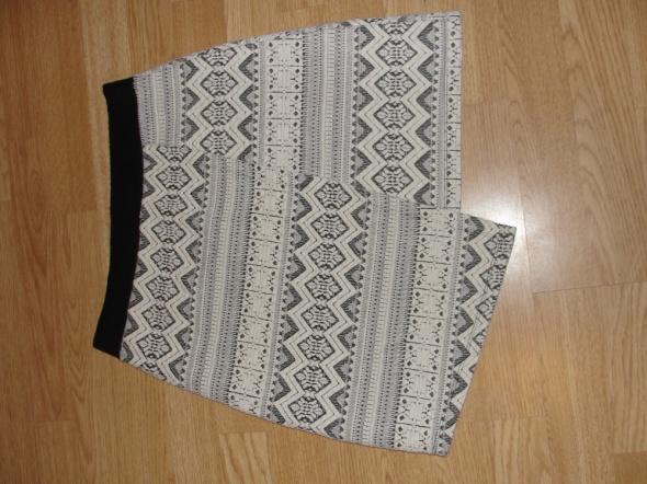 Spódnice spódniczka azteckie wzory asymetryczna