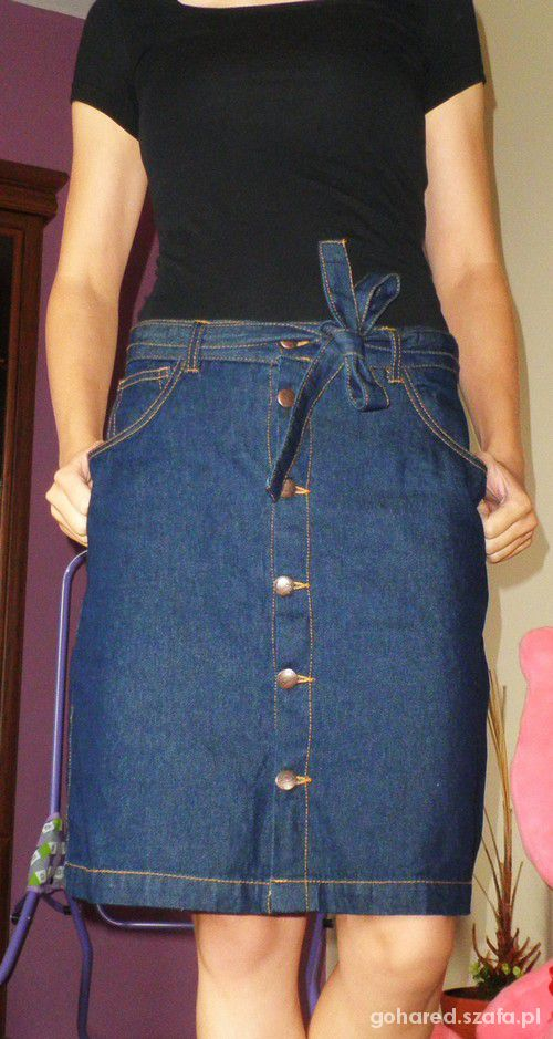 Spódnice Jeansowa dżinsowa spódniczka