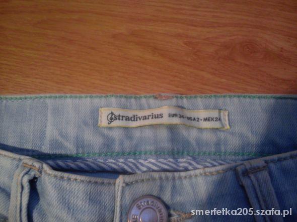 Spodnie Super Skinny Dżinsowe W Stradivarius 7d84b8af1a11 8Owfpw