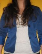 Ciemno niebieski żakiet rozmiar 38 40