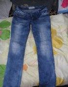 Fajne cieniowane spodnie