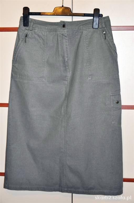Spódnice ołówkowa khaki 42