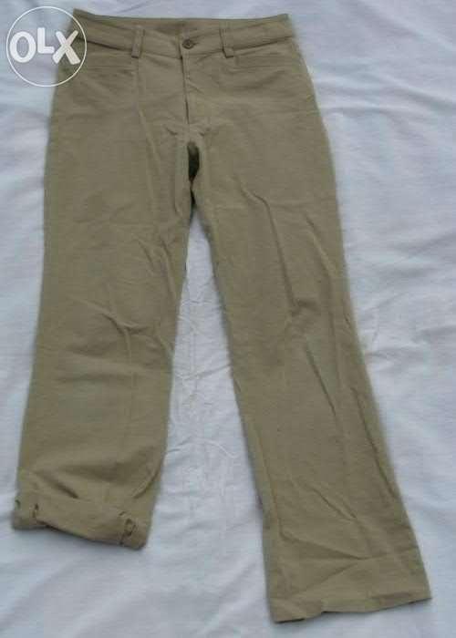 Beżowe Spodnie XS S