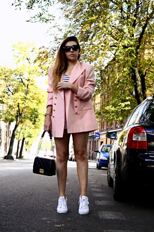 Blogerek Second hand blazer