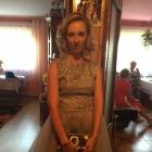 sukienka szara Mosquito kopertówka Karl Lagerfeld