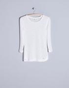 Sinsay Biały Sweterek