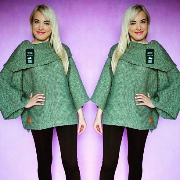Codzienne Sweter khaki