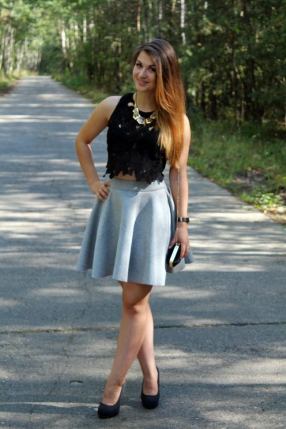 Blogerek spódniczka z neoprenu