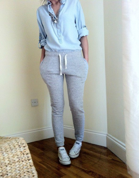 Codzienne spodnie dresowe z elegancją