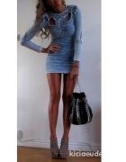 Jeansowa sukienka HM