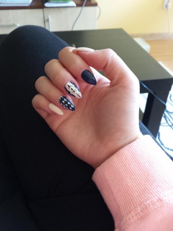 Moje paznokcie...