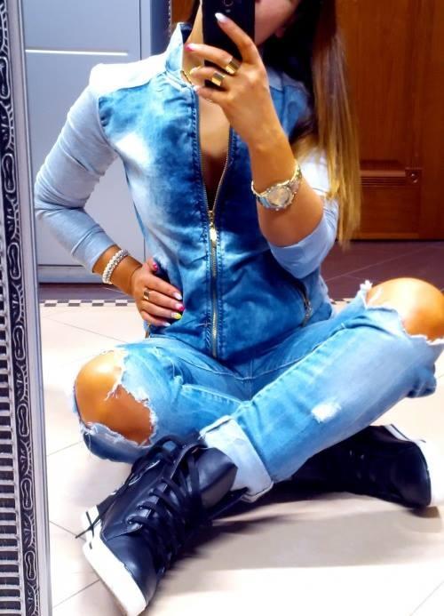 Mój styl Jeansowy secik