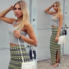 Max print skirt