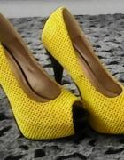 Żółte czółenka roz 36...