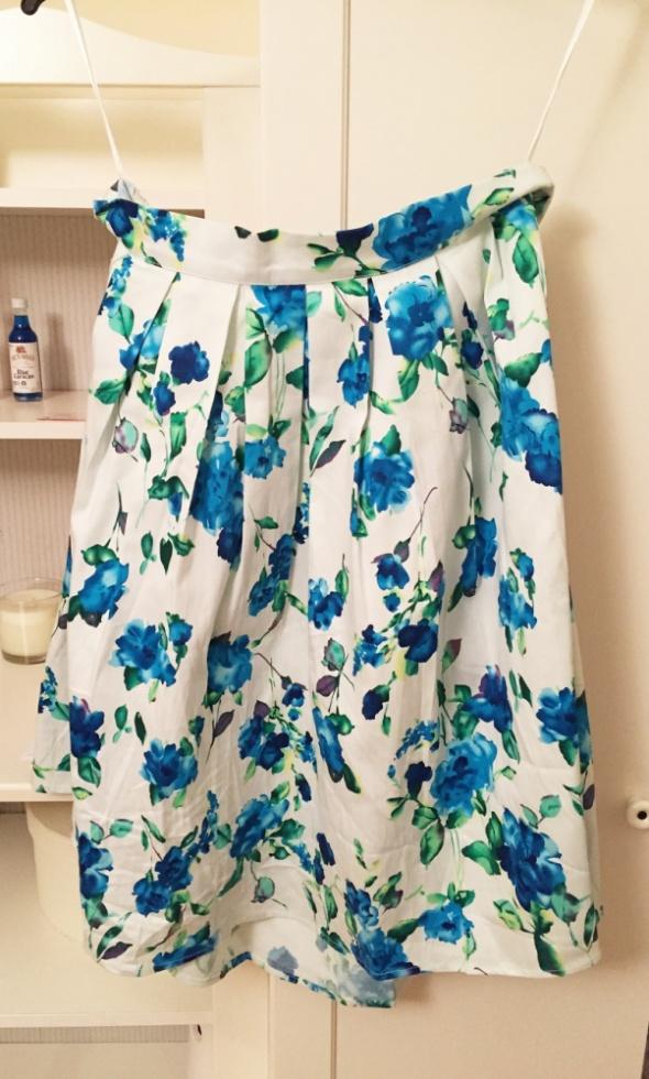 Spódnice spódnica kwiaty
