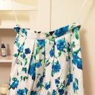 spódnica kwiaty