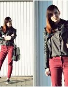 Burgund jeans