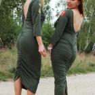 sukienki khaki