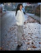 Jesiennie szarość z bielą
