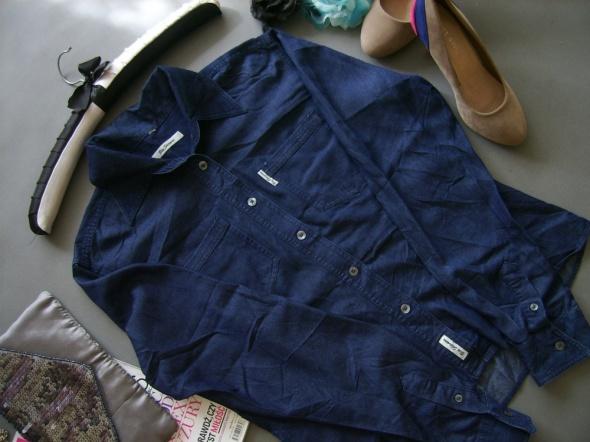 KOSZULA Ben Sherman GRANAT GUZIKI blog jeans 38 40