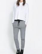 spodnie dresowe melanż tanio pepco