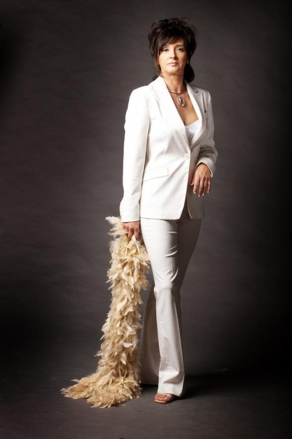 Eleganckie Stylizacja na biało