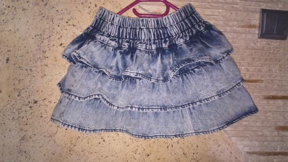 Spódnice Marmurkowa spódniczka zip