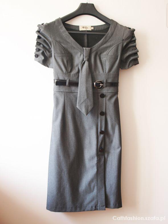 Suknie i sukienki Szara sukienka RHplus r 34