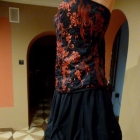 Spódnica gothic lolita kokardy s m l