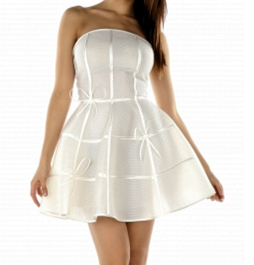2e6a8dfa42 Piękna biała sukienka BY O LA LA w Suknie i sukienki - Szafa.pl