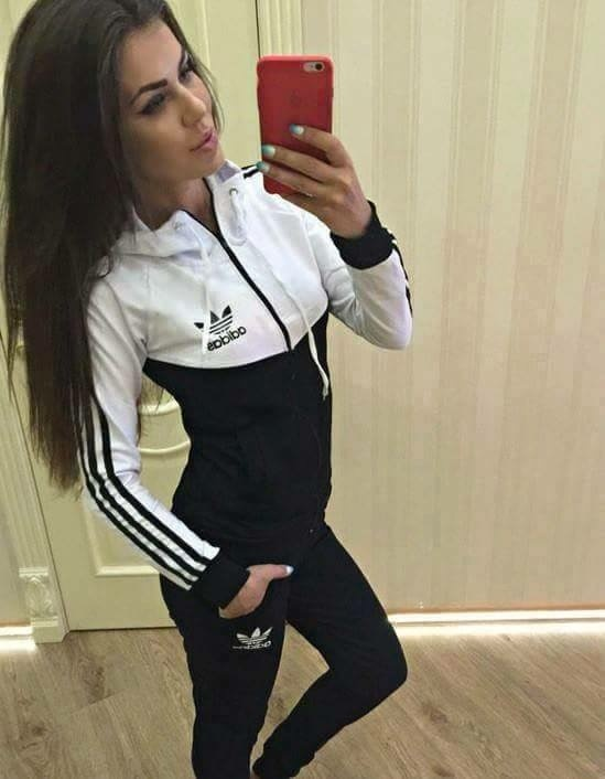 Dresy Dres dresy adidas czarny S M