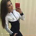 Dres dresy adidas czarny S M
