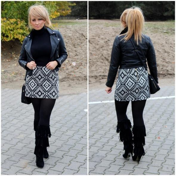 Blogerek Jesienne black and white