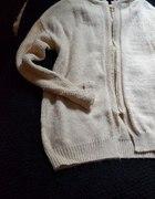 sweterek dlugi zip