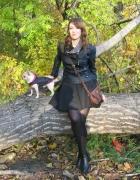 Ramoneska i rozkloszowana spódniczka