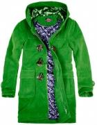 Zielony płaszcz House...