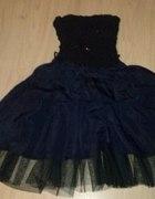 Suknia czarna wieczorowa