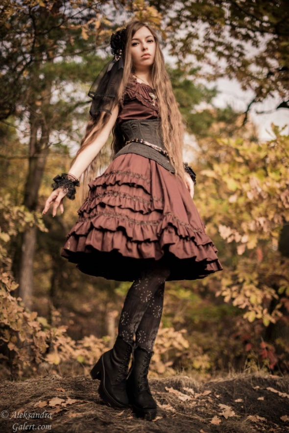 A little bit of steampunk lolita
